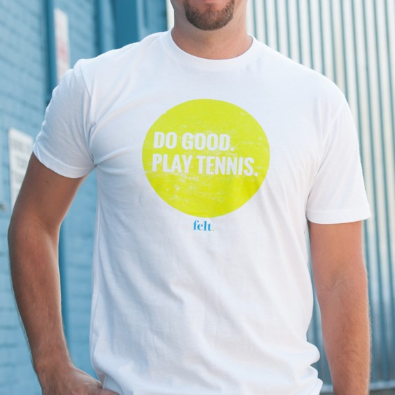 Classic Do Good. Play Tennis. T-shirt